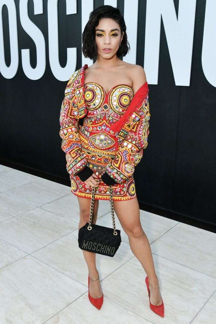 Vanessa Hudgens – MOSCHINO Spring Summer 2018 Menswear and ...