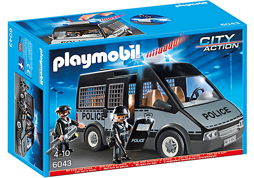 Police Van With Lights Sounds Police Toys Playmobil Police Truck