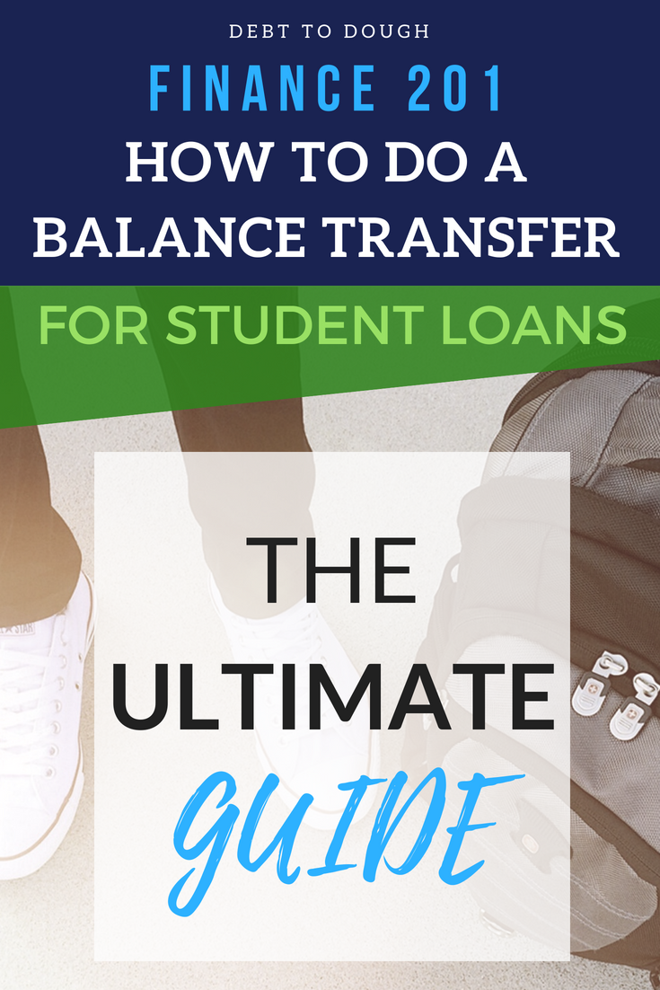 Balance Transfer Student Loans to Credit Cards [The Smart