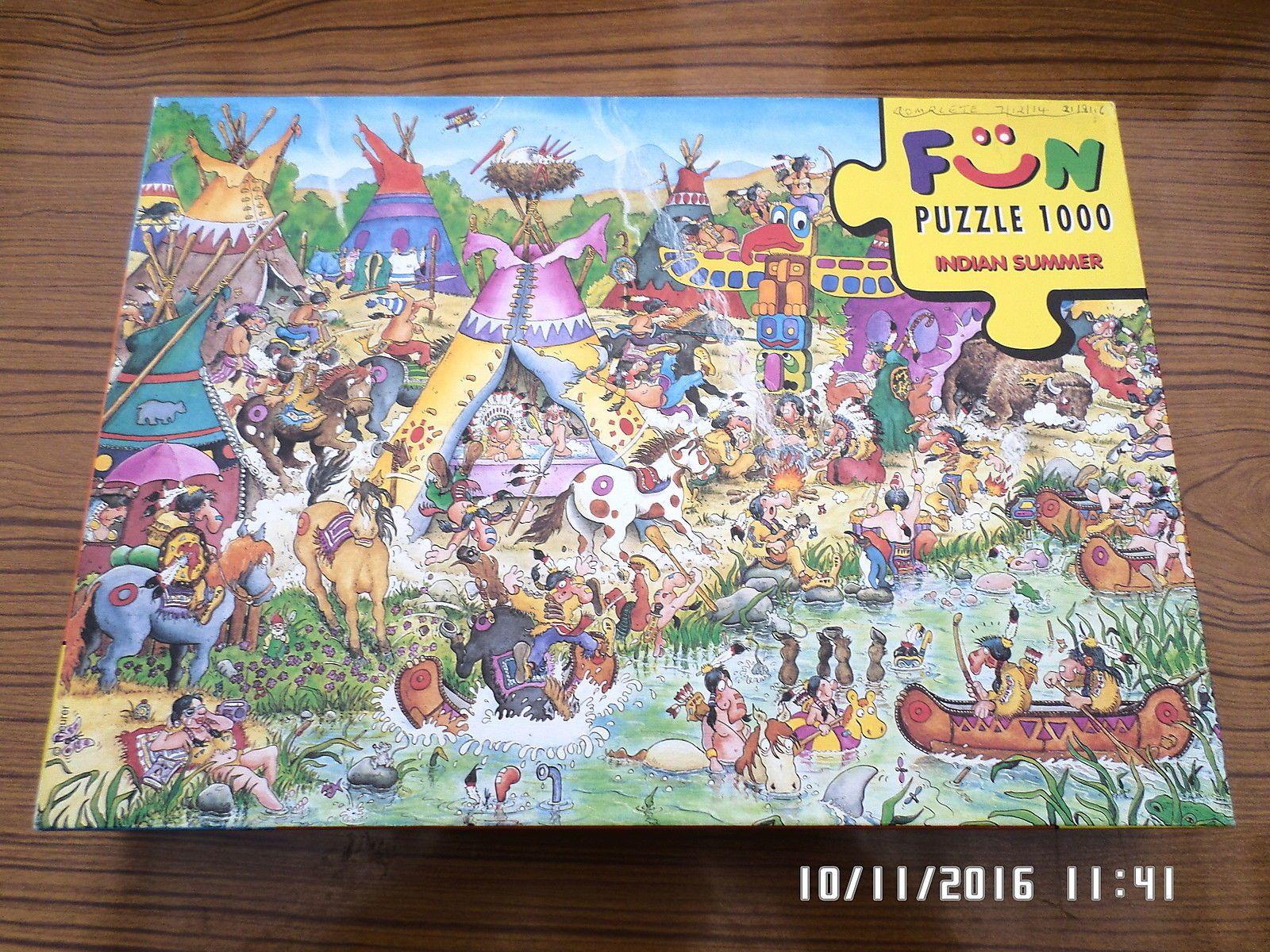 "Heye 1000Pc Fun Puzzle ""indian Summer"" Jigsaw FOR SALE • £ ..."