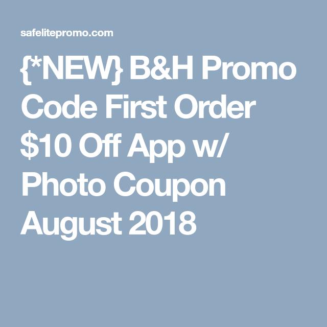 B&h Promo Code 10 Off
