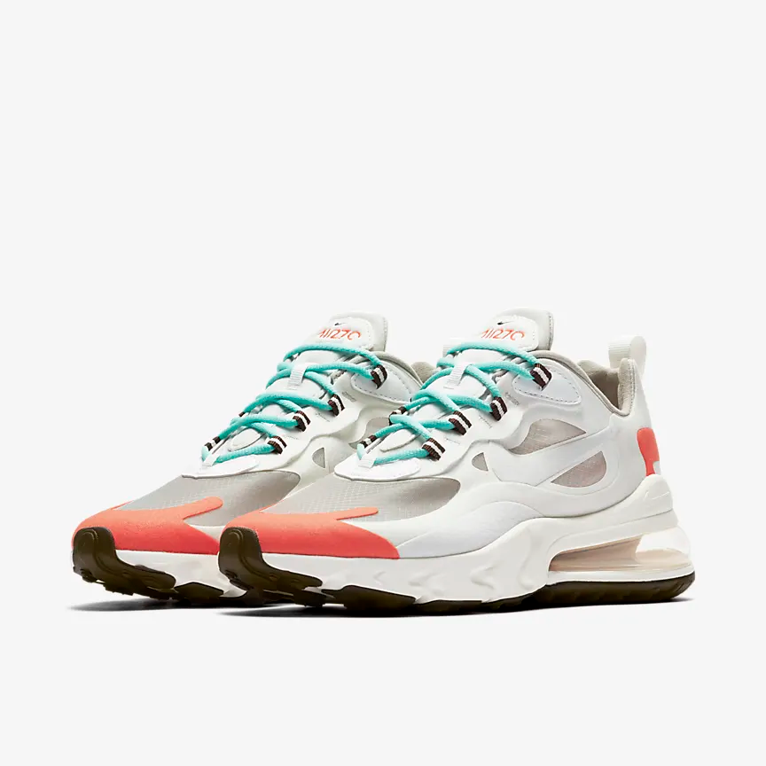 Nike Air Max 270 React (Mid Century) Women's Shoe.