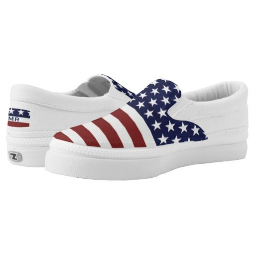 USA American Flag July 4th Slip-On Sneaker 30% off