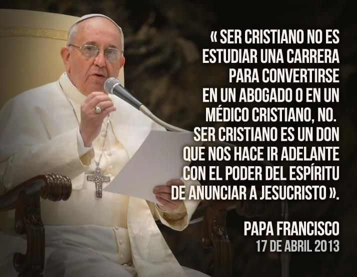 Resultado de imagen de mensajes del papa francisco