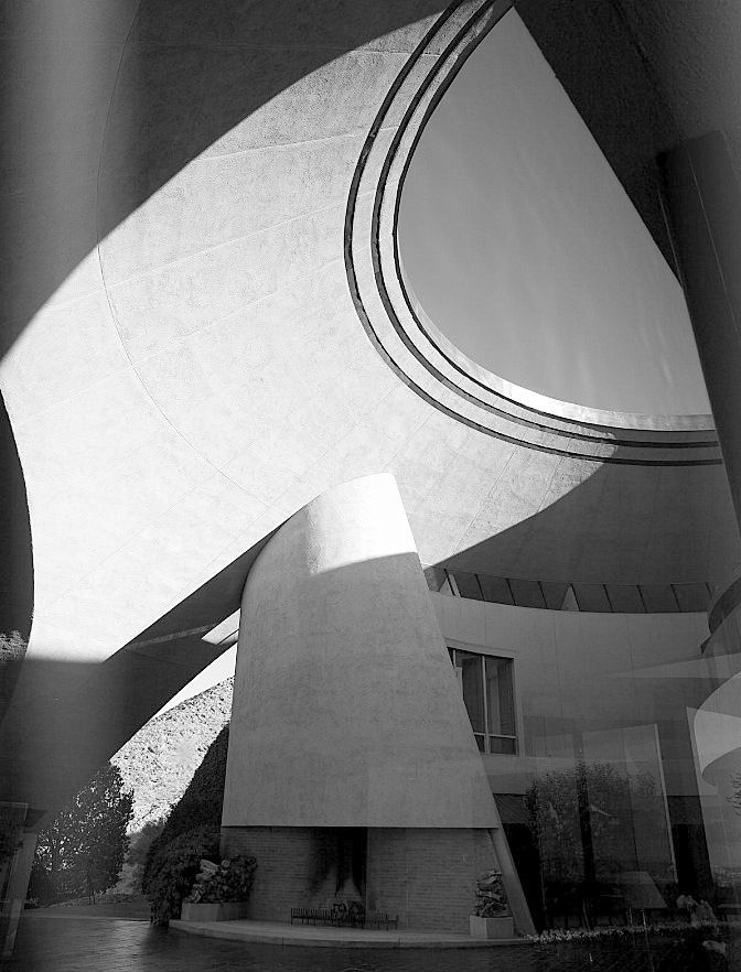 Bob Hope Estate. John Lautner.1973. Palm Springs.