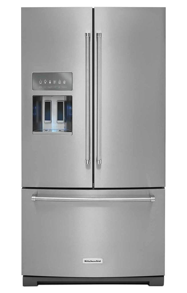 Kitchenaid French Door Fridge Stainless Steel Fridge