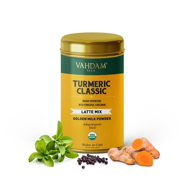 Turmeric Classic Latte Mix (With Images)