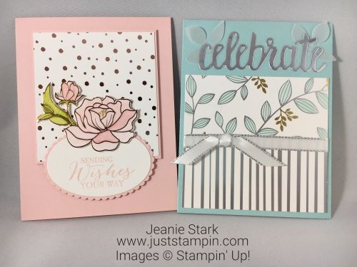 Stampin Up Springtime Foils Specialty Designer Series Paper Birthday