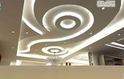 40 Latest Gypsum Board False Ceiling Designs With Led Lighting