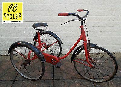 Application Vintage Red Bike Patch