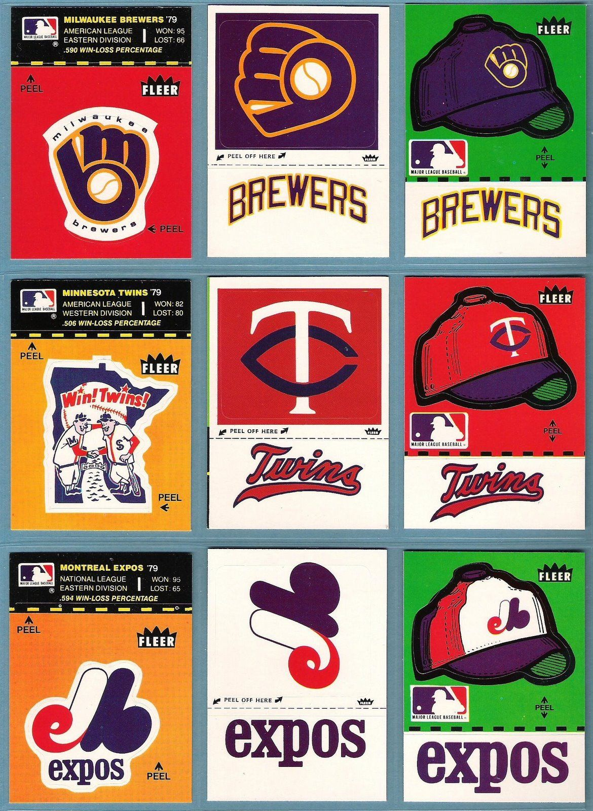 The Fleer Sticker Project 1980 Fleer Baseball Stickers