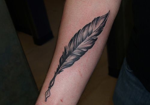 Grey Feather Quill Like The Quill But Just Want The Feather
