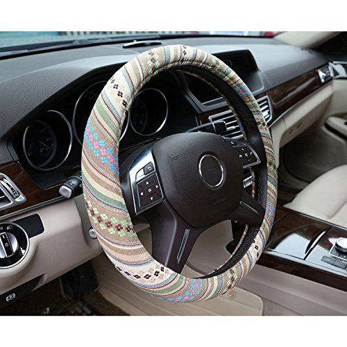 Bell Automotive 22-1-97192-8 Boho Blanket Steering Wheel Cover