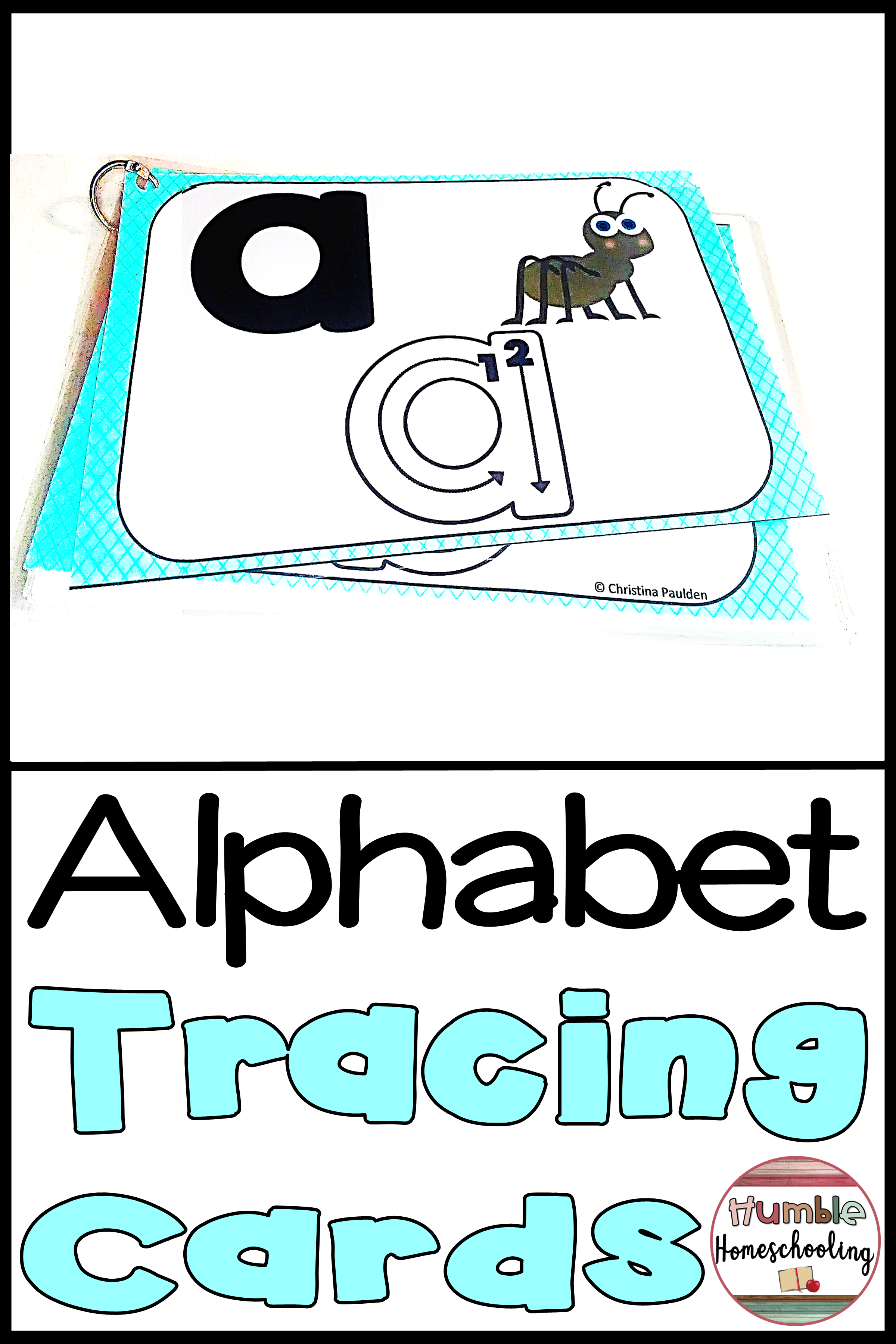 Alphabet Tracing Cards Lowercase