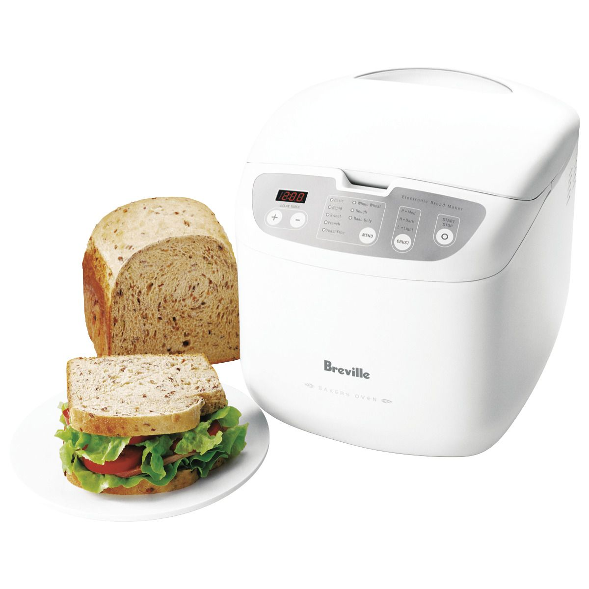 Shop Online For Breville Bbm100 Breville Baker S Oven Bread Maker And More At The Good Guys Grab A Bargain From Australia S Lea Bakers Oven Bread Maker Bakers