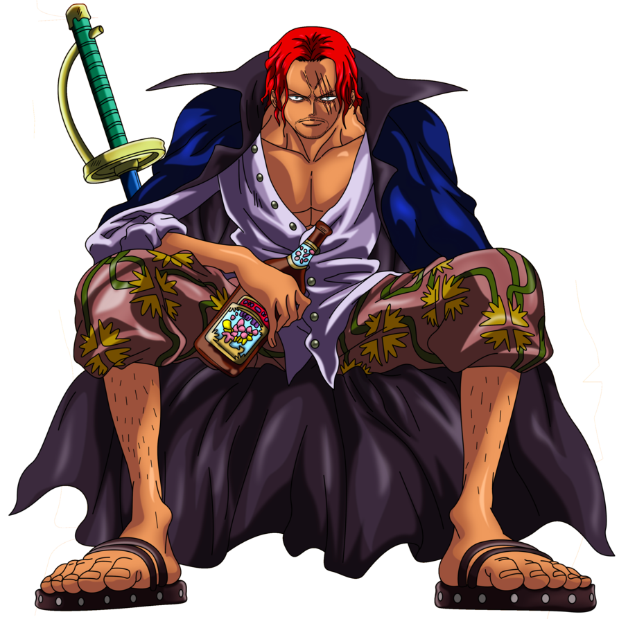Shanks 3 Anime Manga One Piece Animes Boruto