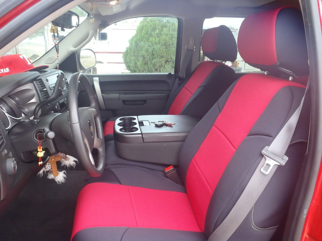 image of red and black truck interior - Google Search | interior ...