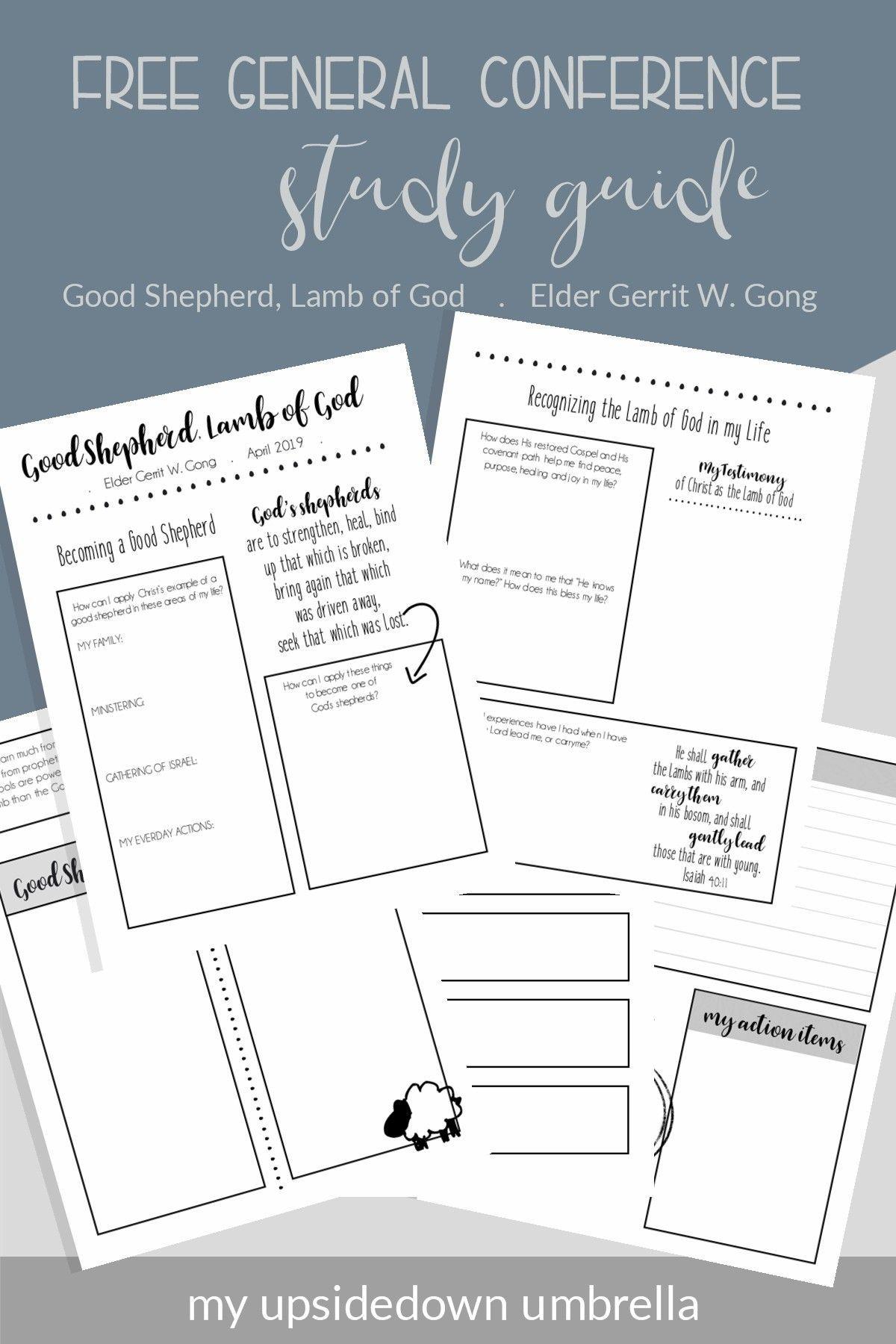 Good Shepherd Lamb Of God General Conference Study