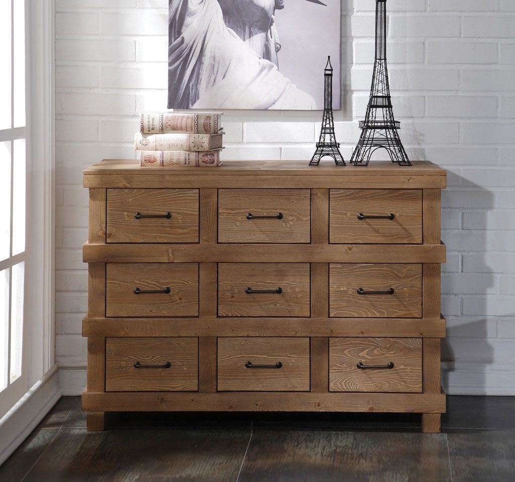 Best Adams Antique Oak Dresser Acme Furniture 9 Drawer 400 x 300