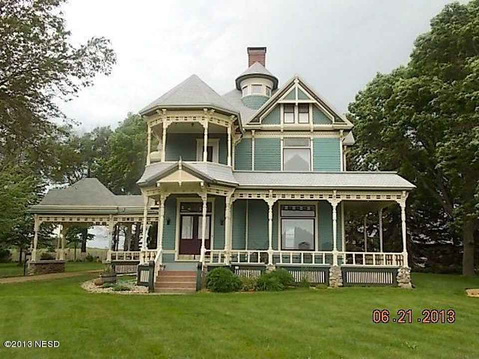 1887 Queen Anne – 2517 4th St NE, Watertown, SD 57201 one of Watertown's most iconic homes, also known as Olive Place (national historic registry) is on 2 acres and is located 1 mile from town.
