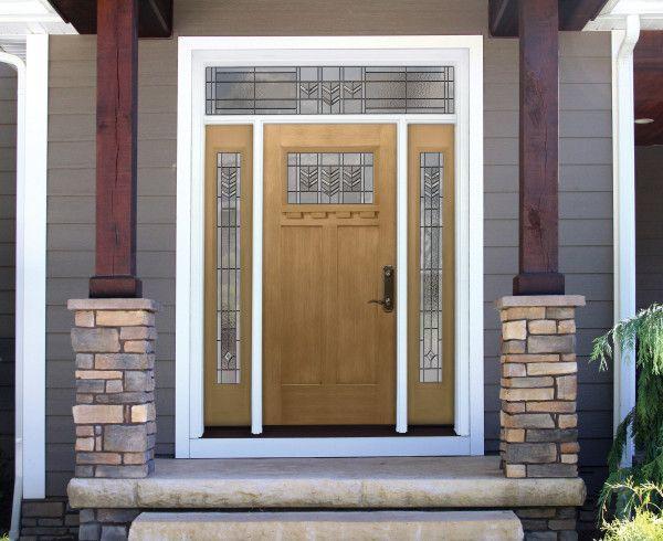 Signet Fir Tacoma Fiberglass Door Front Entry Firs And Doors