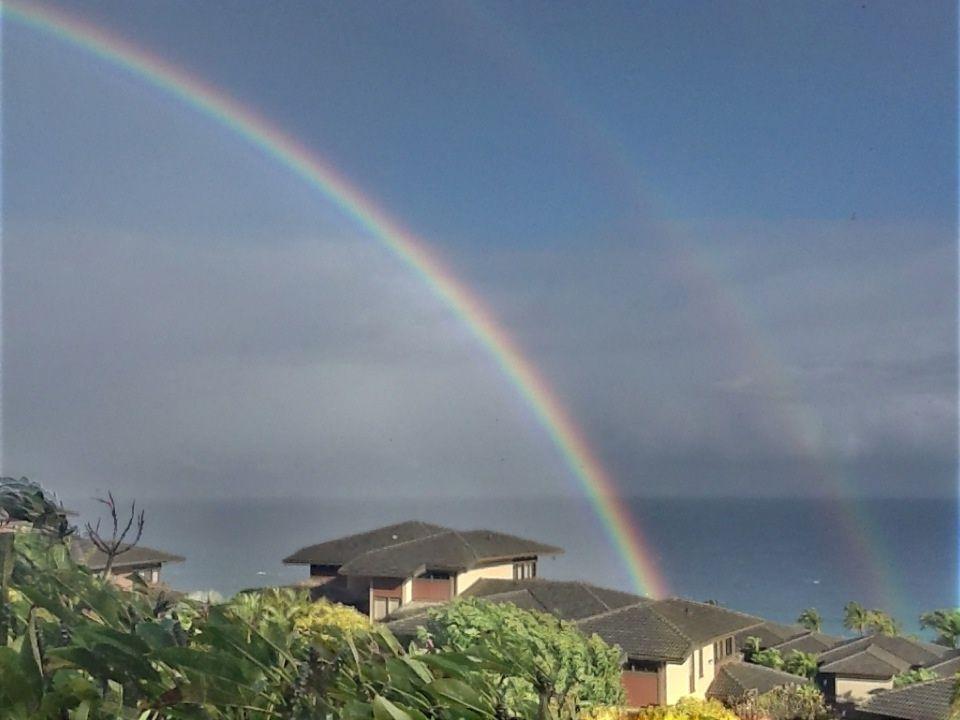 Double rainbow from Reddit.