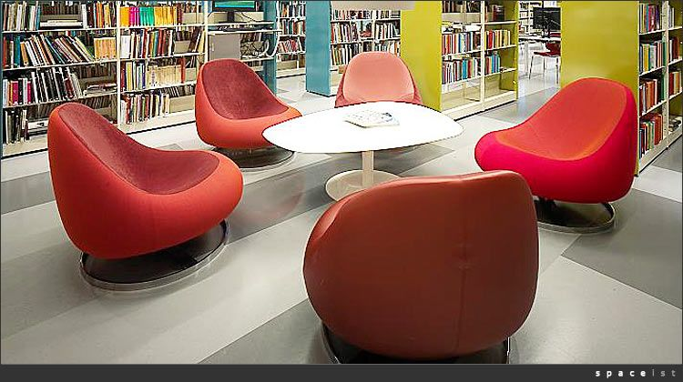 Contemporary Library Furniture Seating Library