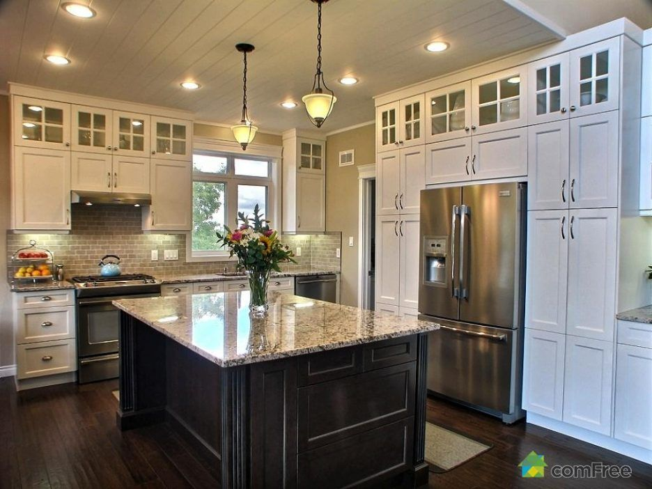 Image result for kitchen cabinets 10 ft ceilings | Trendy ...