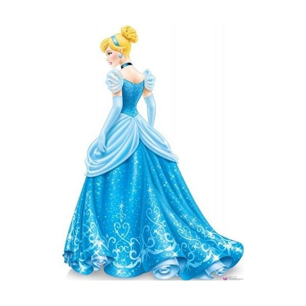 Cinderella new look (rear view) - Disney Princess Photo (33431769) - Fanpop found on Polyvore