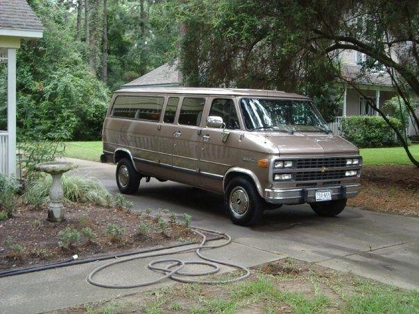 1995 Chevrolet Chevy Van Pictures Chevy Van Chevrolet Van Van