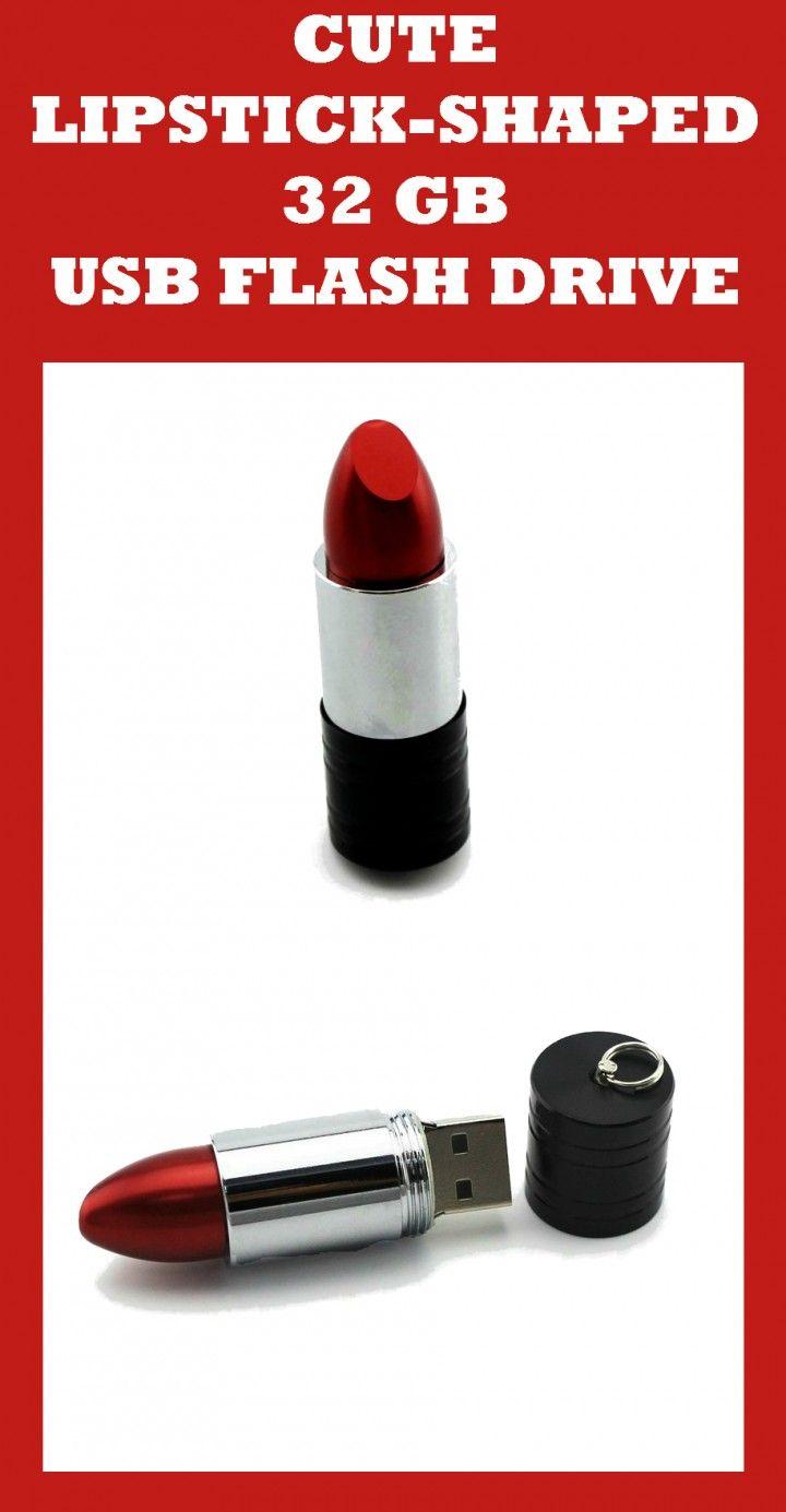 Lipstick-Shaped USB Flash Drive 32GB Review #coolelectronics