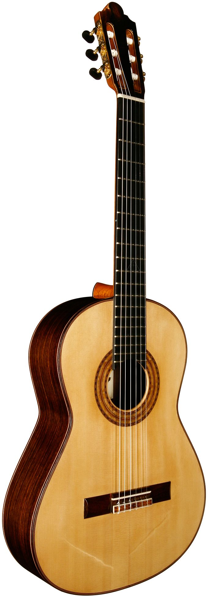 2012 Steve Porter concert classical guitar. Spruce Top and Indian Rosewood back and sides.