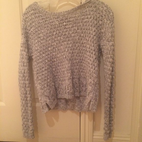 forever 21 sweater grey sweater, soft, in amazing condition! worn once! Forever 21 Sweaters Crew & Scoop Necks