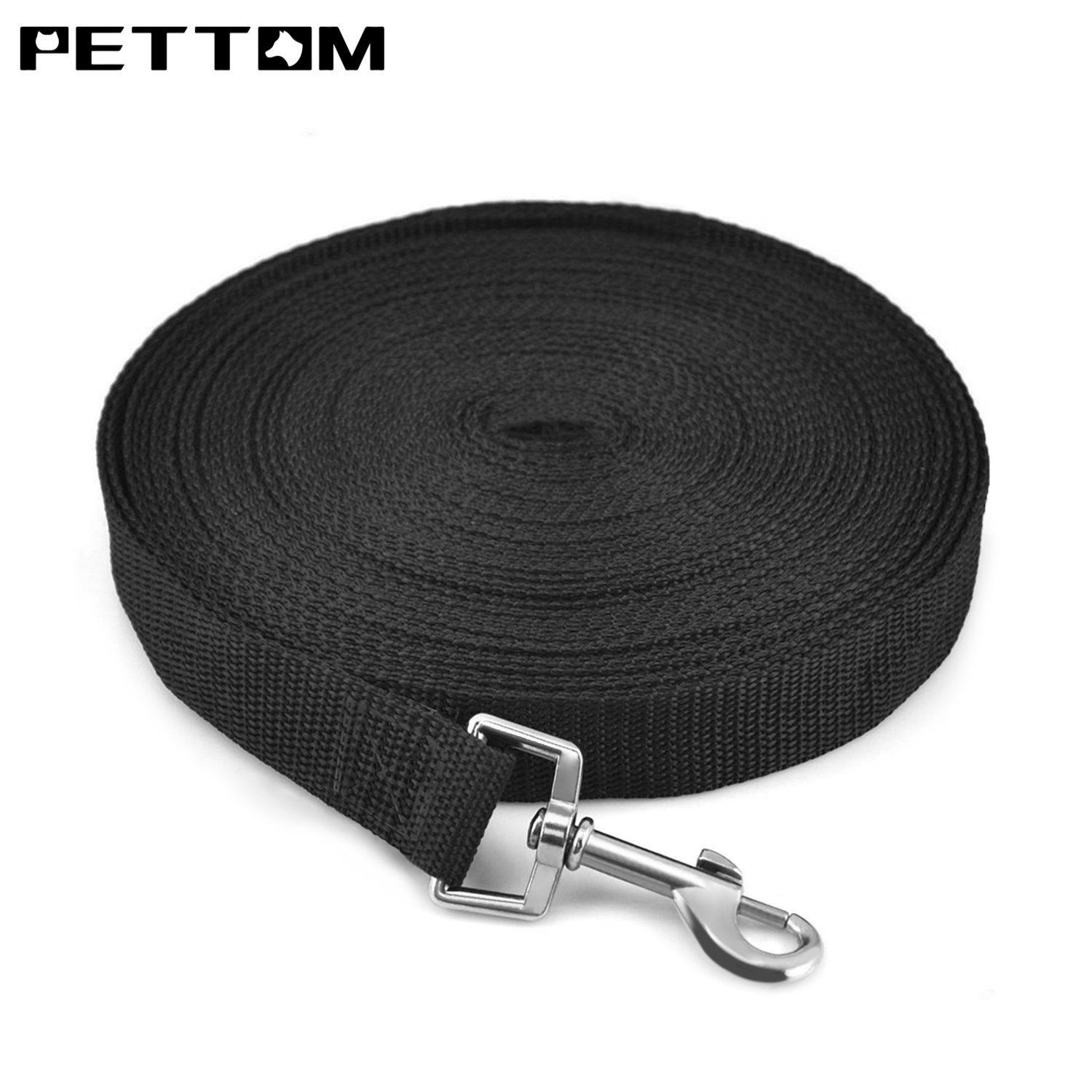 Pettom Gear Cotton Web Dog Training Lead 30 50 Ft Want To Know