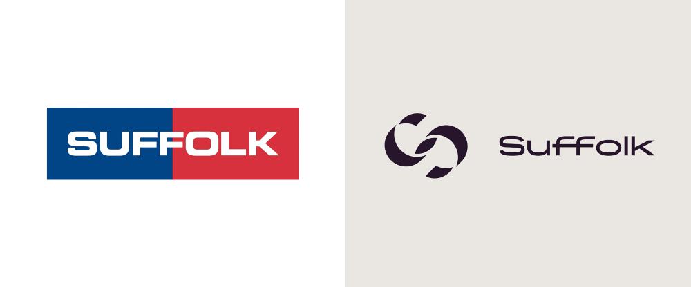 New Logo And Identity For Suffolk By Mullenlowe Identity Logo Identity Typography Branding