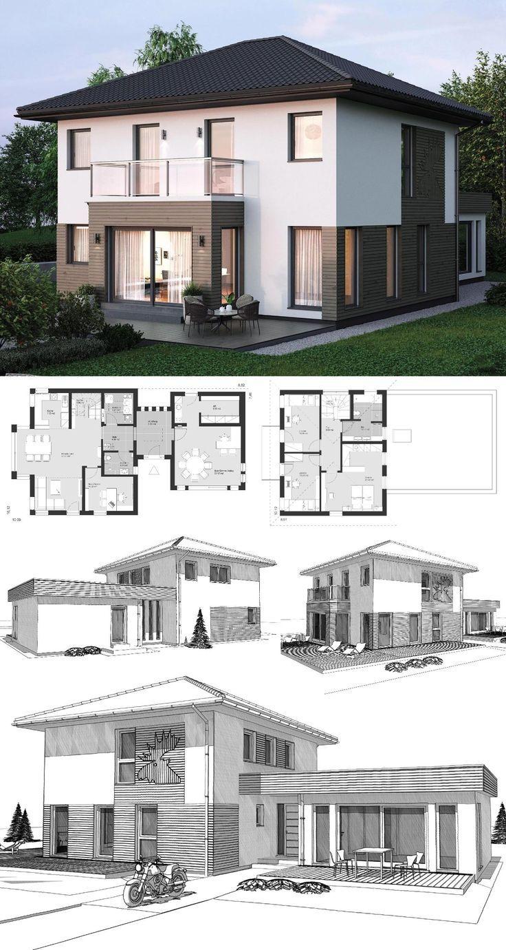 Small Villa Modern Contemporary European Style
