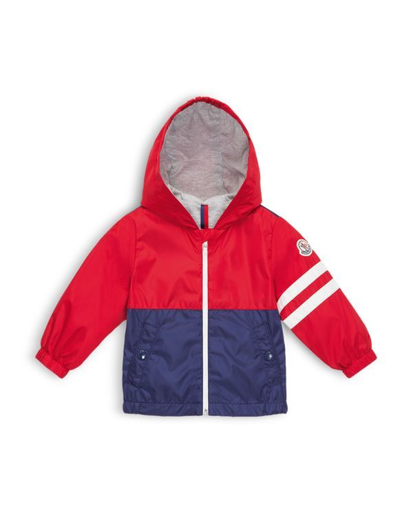Moncler Infant Boys' Color Blocked Rain Jacket - Sizes 6-24 Months.