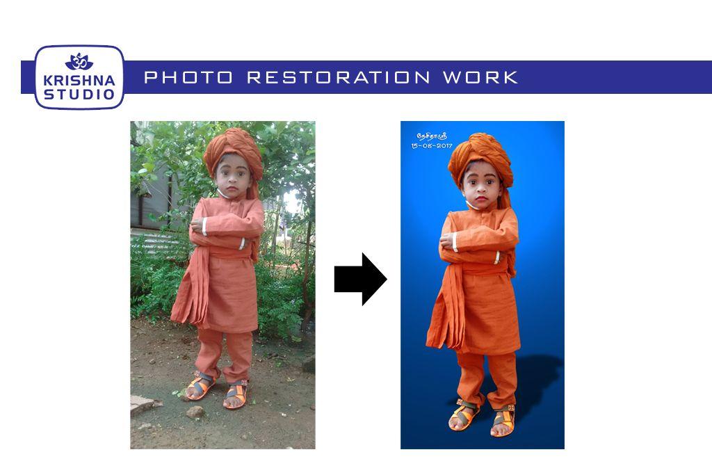 Krishna Studio Offers Photo Restoration Services In Usilampatti We Are Professio Online Photo Printing Services Photo Printing Services Photo Editing Services