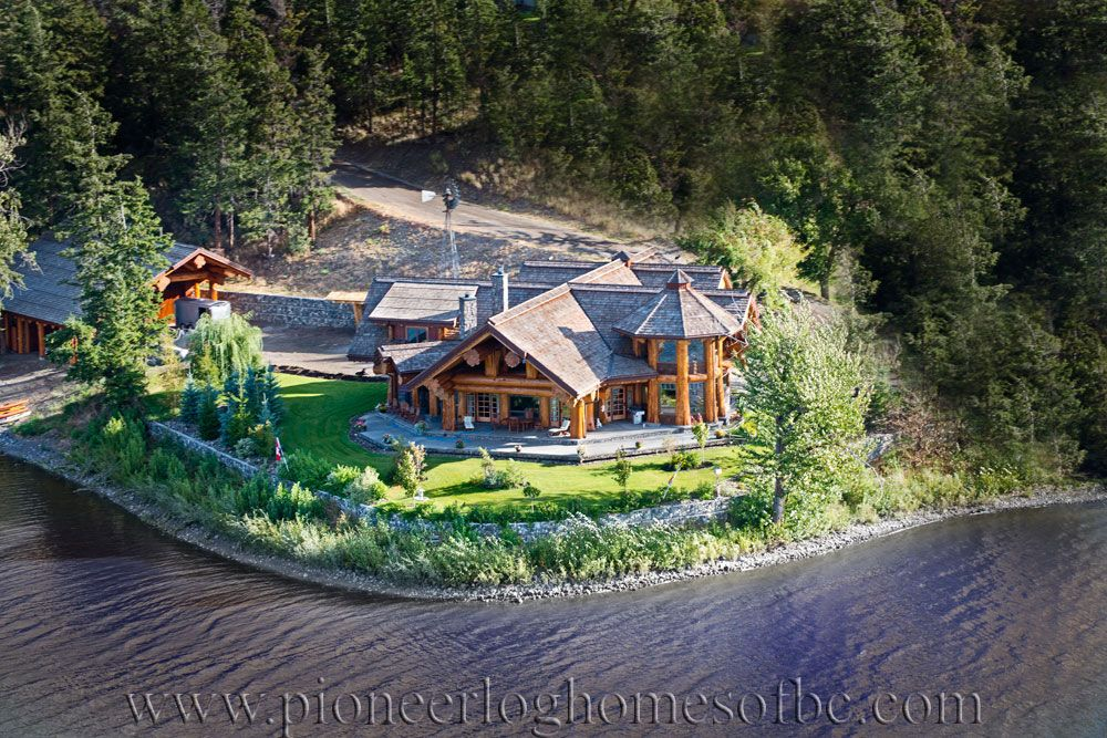 Log Post and Beam Homes Picture Gallery Log Post & Beam