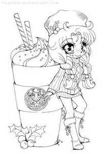 Chibi Food Girls Chibi Coloring Pages Coloring Contest Unicorn Coloring Pages