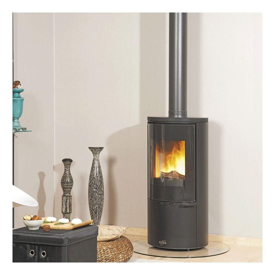 Cadene 5 6kw Poele A Bois Godin In 2020 Home Appliances Wood