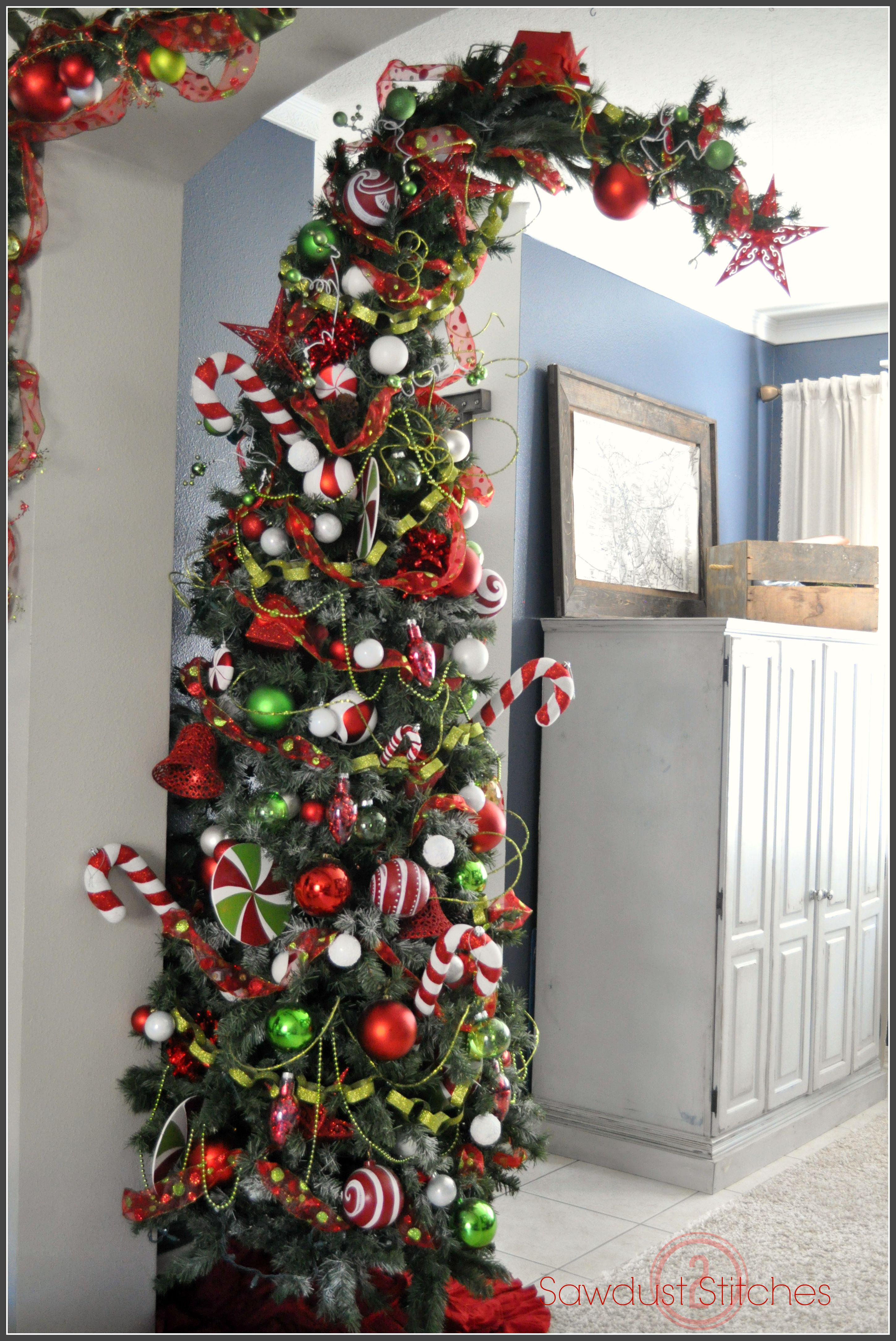 How To Make A Grinch For Christmas Tree