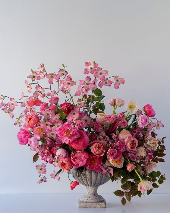 How to Make a Spring Floral Arrangement - The House That Lars Built