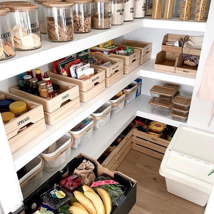 zero waste plastic free on instagram we love how littlestronghome organized this pantry on kitchen organization zero waste id=52966