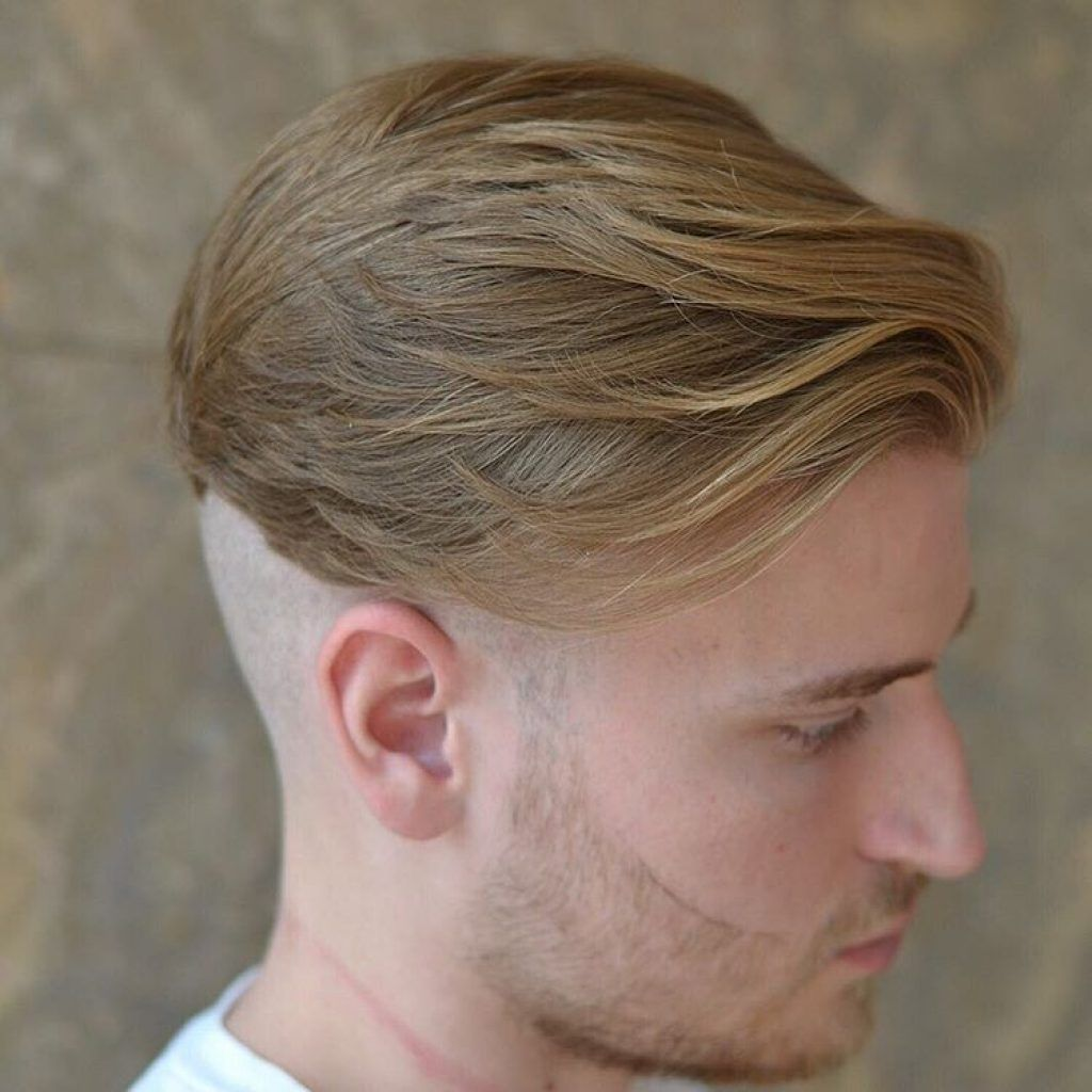 Mens short undercut haircut waves  undercuts hairstyles for man  short beard trends
