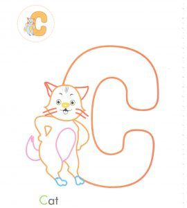 Alphabet Letters Coloring Pages For Preschool