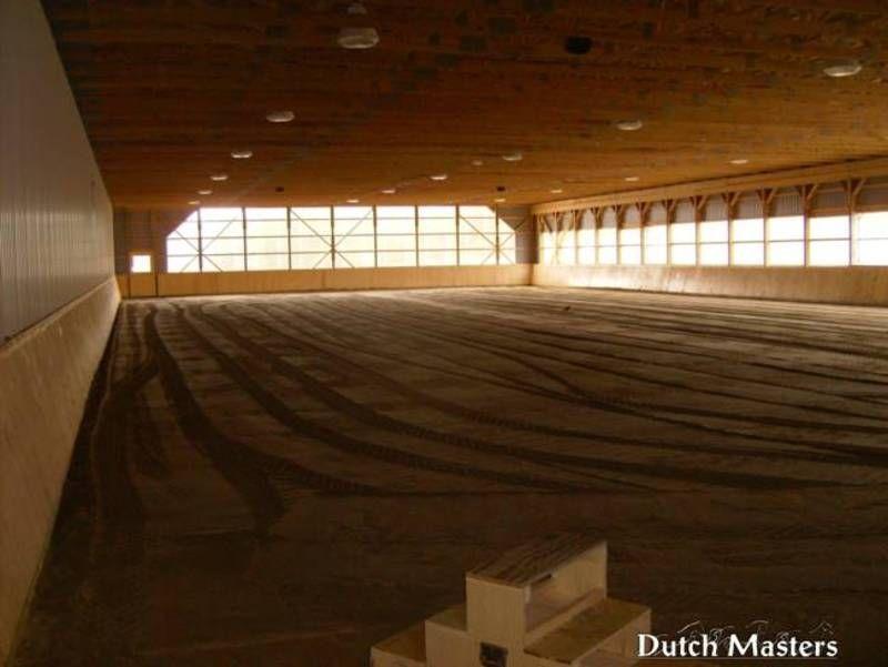 Arena Interior | Barn builders, Barn renovation, Horse ...
