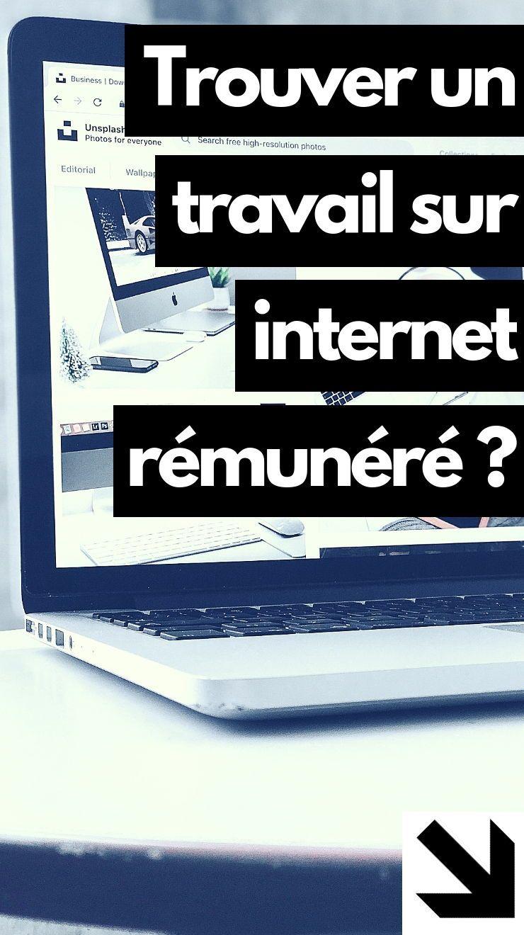 Comment trouver un travail sur internet à domicile rémunéré