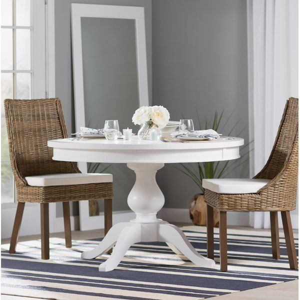 You Ll Love The Zeinab Round To Oval Extendable Dining Table At Birch Lane With Great Deals On All F Dining Table Dining Table In Kitchen Dining Table Marble
