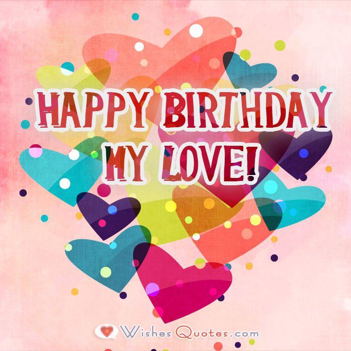 Romantic Birthday Wishes, Happy